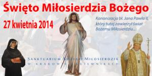 Święto Miłosierdzia 2014